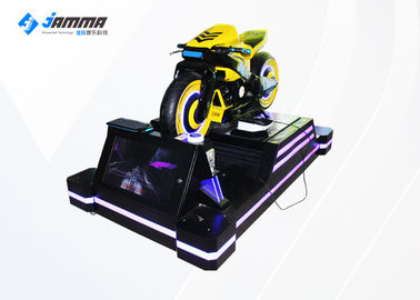 Four Players VR Motorcycle Simulator With Deepoon E3 Glasses Full 3D Audio And Effects